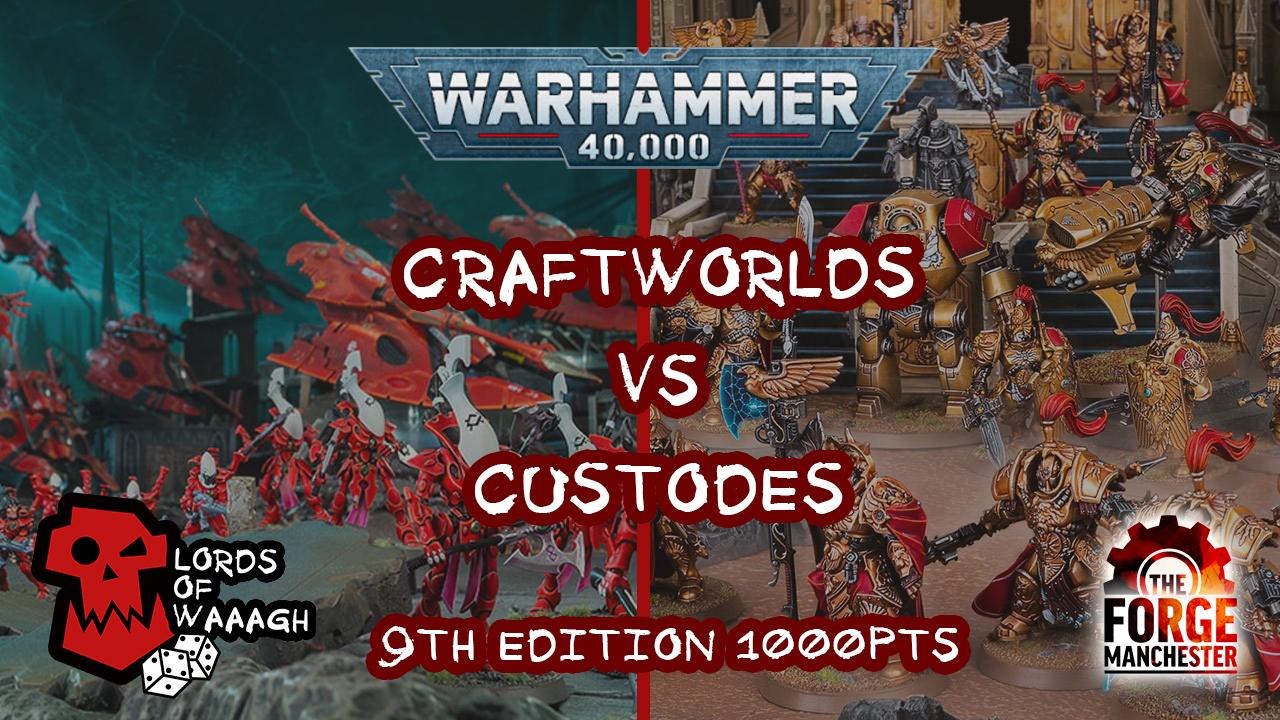 craftworld vs custodes